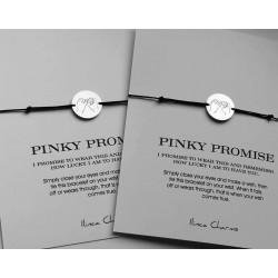 Set bratari ''Pinky Promise''